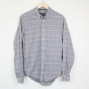 Eddie Bauer Relaxed Fit Button Front Dress Shirt